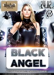 ПЯТНИЦА: Black Angel в Shishas Lounge Bar! Ангел ночи и покровитель тайных любовников! :)